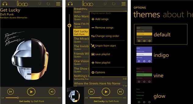 Loco music player - Imagem 1 do software