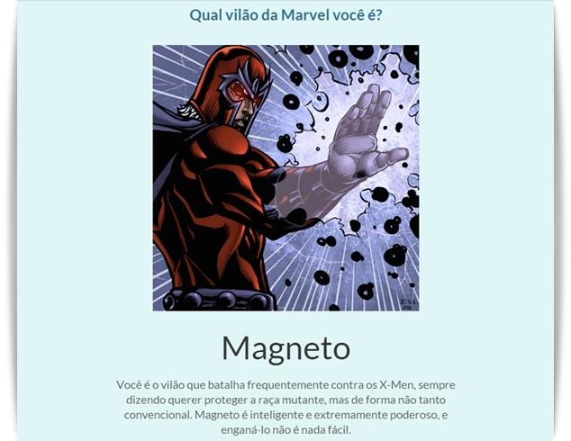 Qual vilão da Marvel você é? - Imagem 1 do software