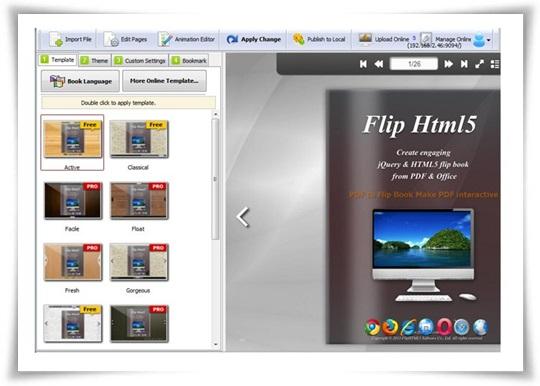 Flip HTML5 - Imagem 4 do software