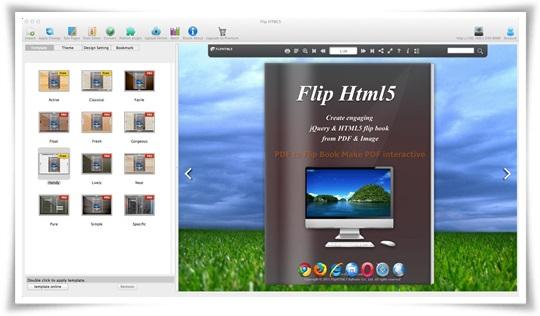 Flip HTML5 - Imagem 3 do software