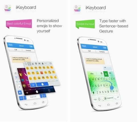 iKeyboard - emoji,emoticons - Imagem 1 do software