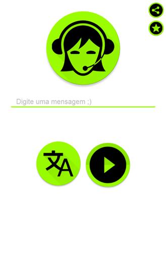 Voz da Mulher do Tradutor - Imagem 2 do software