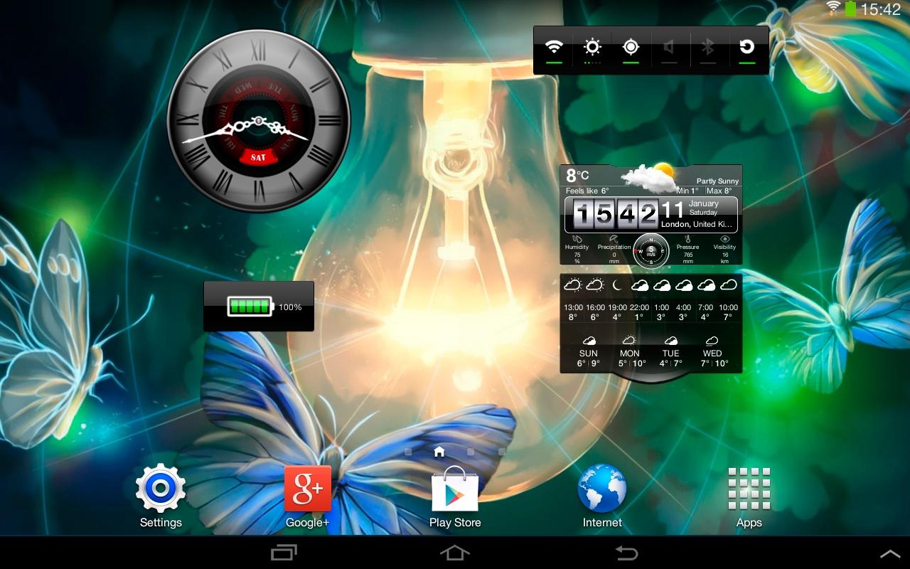 Widgets de Transforme Sua Tela - Imagem 1 do software