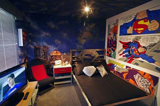13 exemplos de decora o que todo nerd gostaria de ter em seu quarto mega curioso. Black Bedroom Furniture Sets. Home Design Ideas