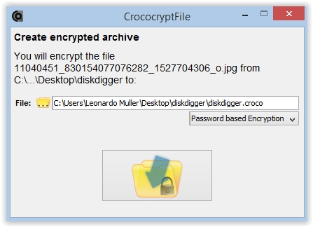 CrocoCryptFile - Imagem 1 do software