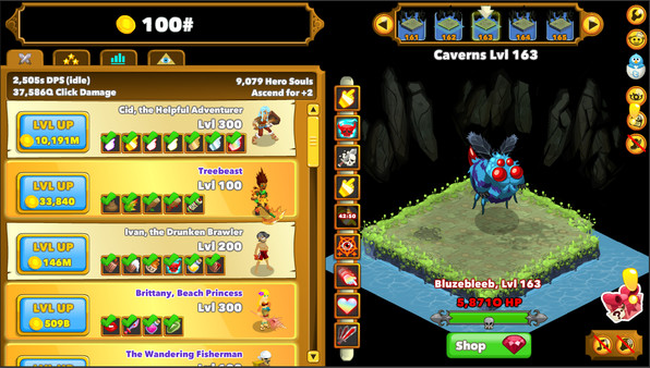 Clicker Heroes - Imagem 1 do software