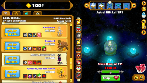 Clicker Heroes - Imagem 3 do software