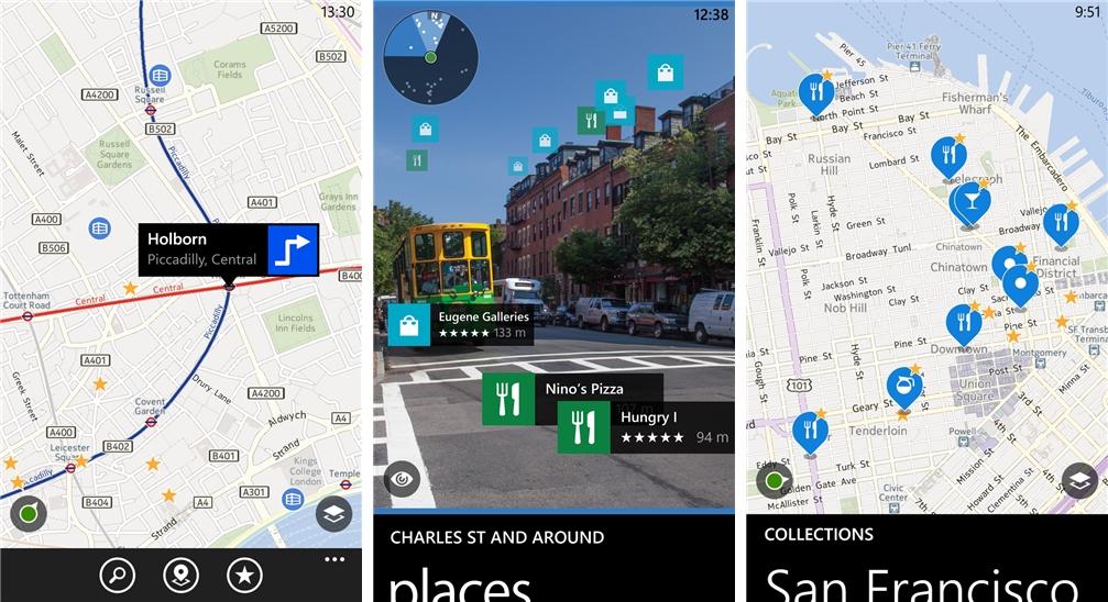 HERE Maps - Imagem 1 do software