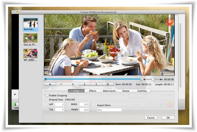 Cisdem DVDBurner - Imagem 1 do software