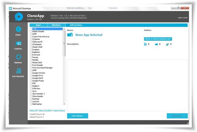 CloneApp - Imagem 1 do software