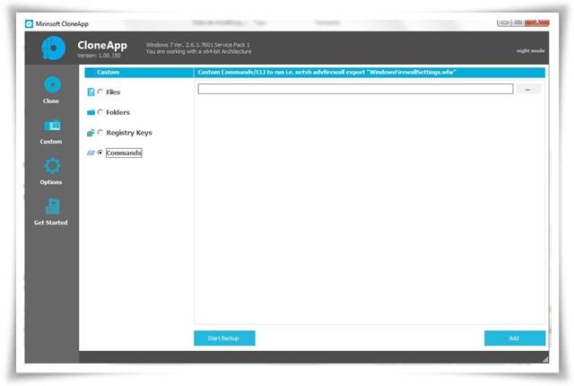 CloneApp - Imagem 2 do software
