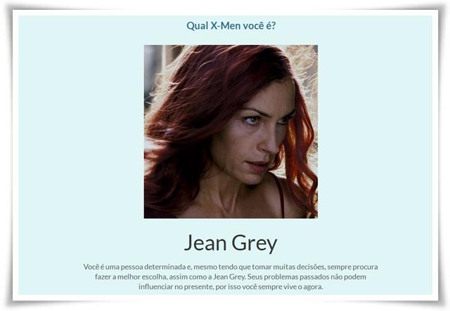 Qual X-Men você é? - Imagem 1 do software