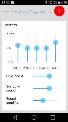 equalizador de som para celular lg t375
