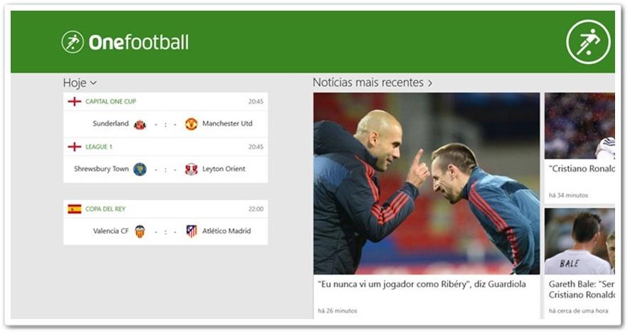 One Football - Imagem 3 do software