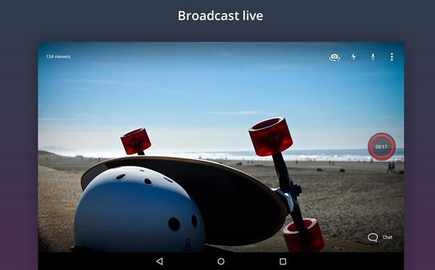Transmitindo ao vivo