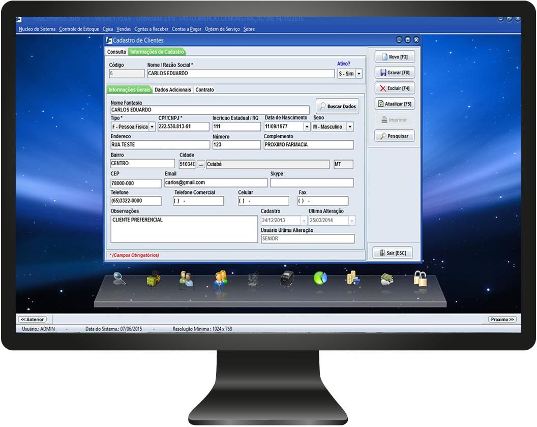 Emissor de NFC-e Fácil - Imagem 1 do software