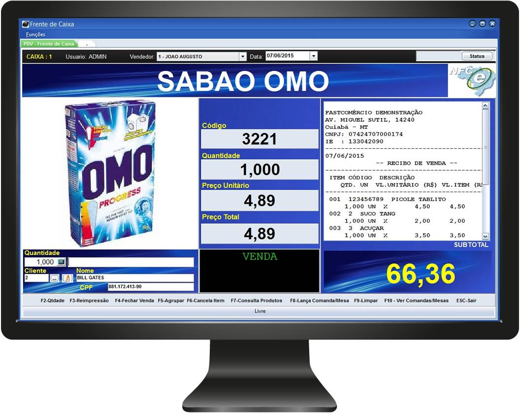 Emissor de NFC-e Fácil - Imagem 2 do software