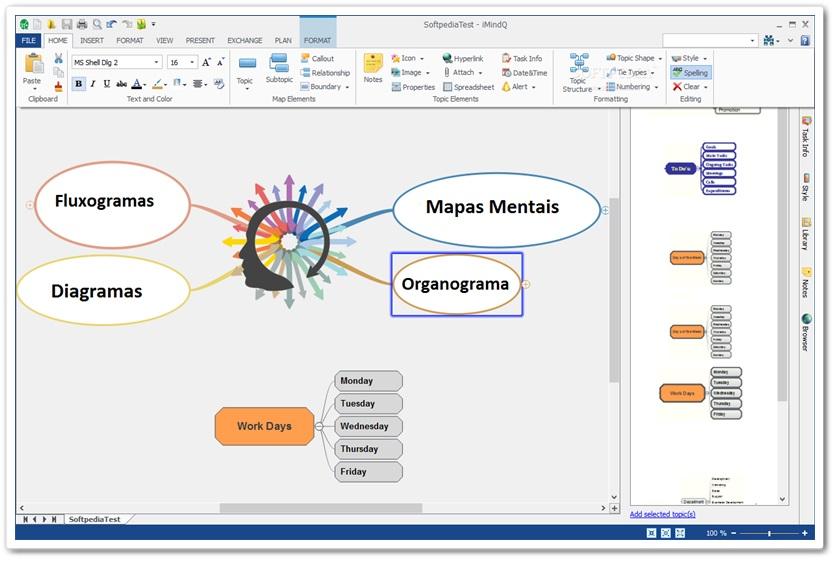 iMindQ - Imagem 1 do software