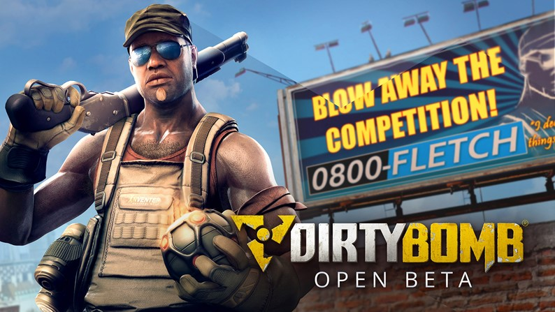 Liberadas novas imagens para a divulgação da 'Open Beta' de Dirty Bomb