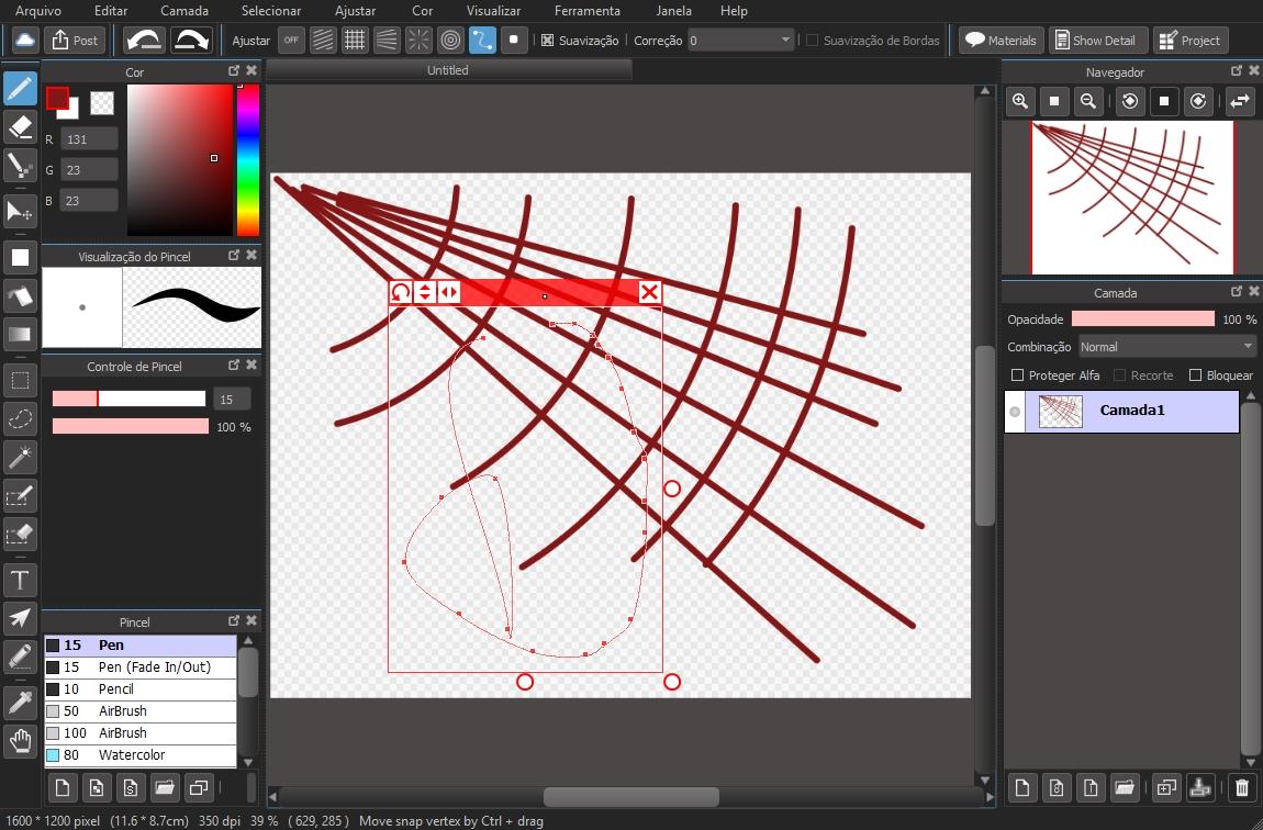 MediBang Paint - Imagem 1 do software