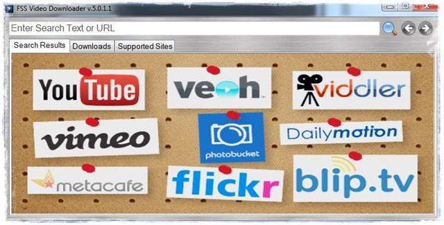 FSS Video Downloader - Imagem 1 do software
