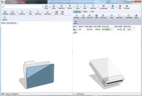 GetFoldersize - Imagem 1 do software