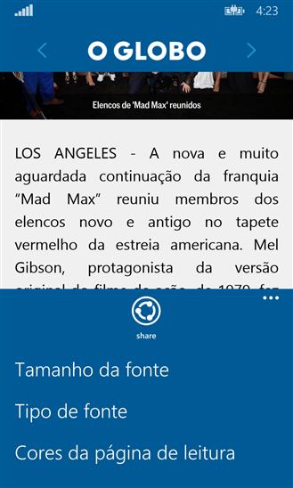 O Globo Notícias - Imagem 2 do software