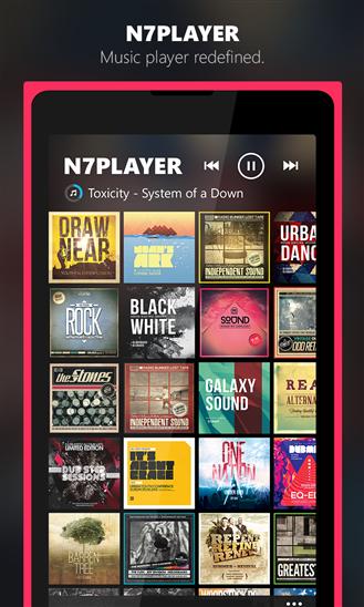 n7player Music Player - Imagem 3 do software