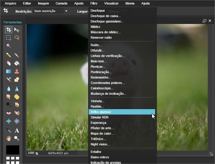 Pixlr - Imagem 4 do software