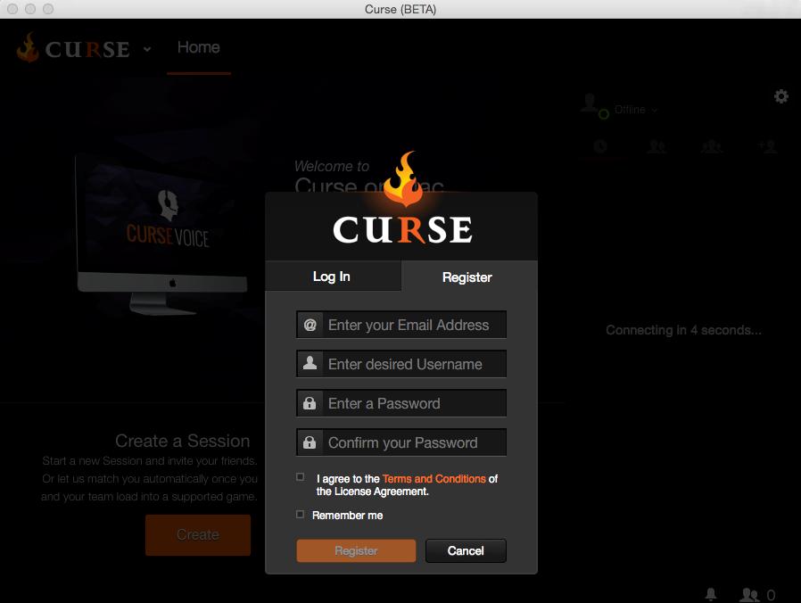 Curse - Imagem 1 do software