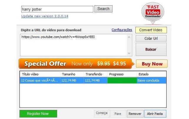 Fast Video Downloader - Imagem 1 do software
