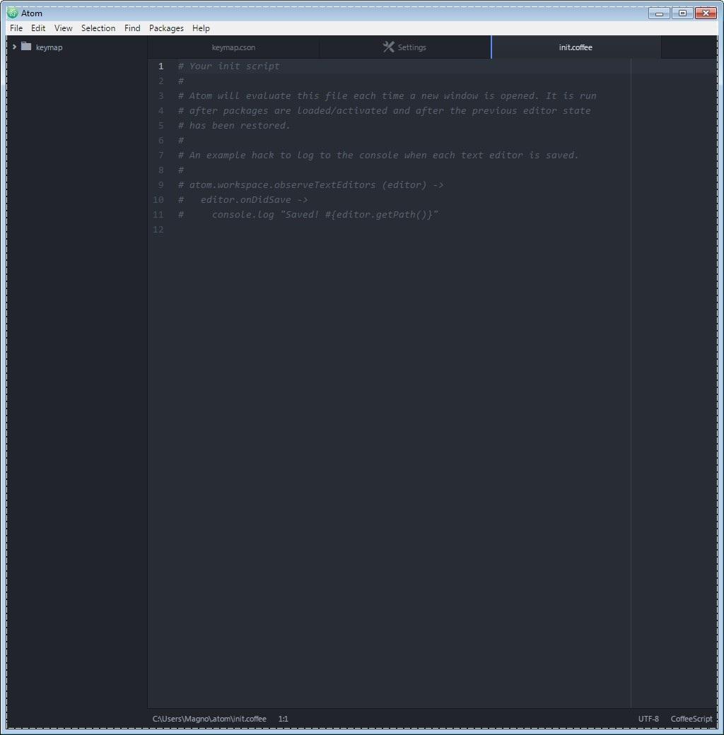 Atom Text Editor - Imagem 2 do software
