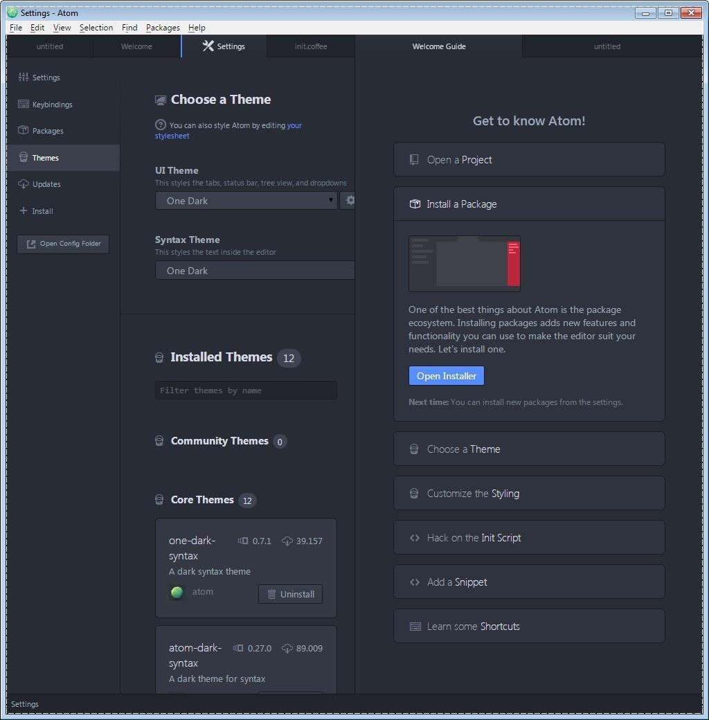 Atom Text Editor - Imagem 3 do software