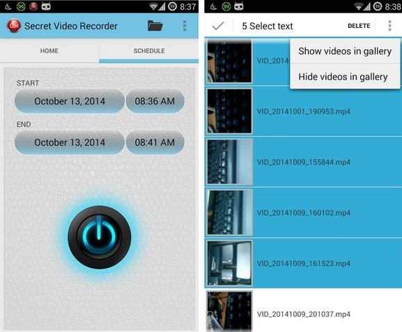 Secret Video Recorder - Imagem 1 do software