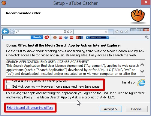 aTube Catcher - Imagem 2 do software