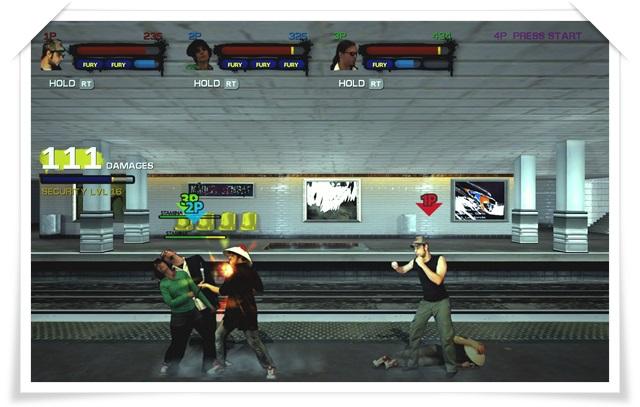 Streets of Fury Ex - Imagem 2 do software
