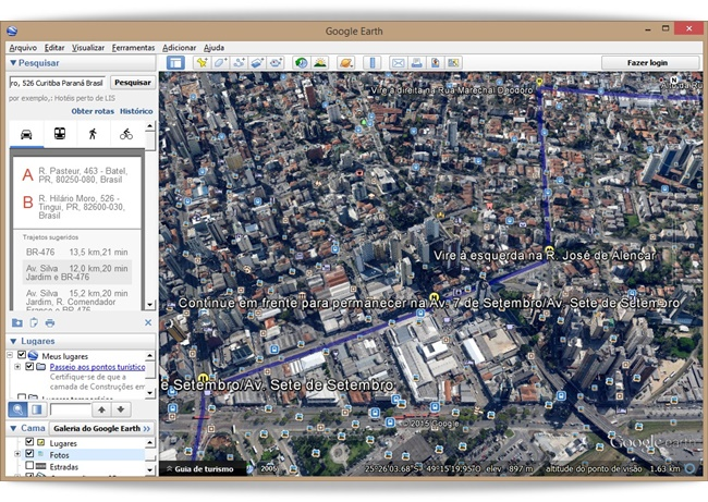 Google Earth - Imagem 2 do software