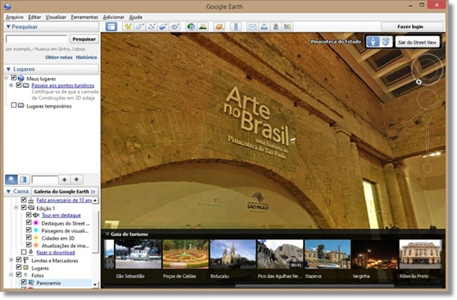 Google Earth - Imagem 3 do software