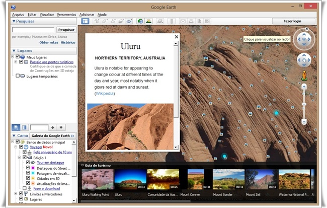 Google Earth - Imagem 4 do software