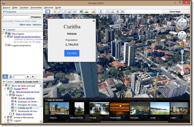 Google Earth - Imagem 5 do software