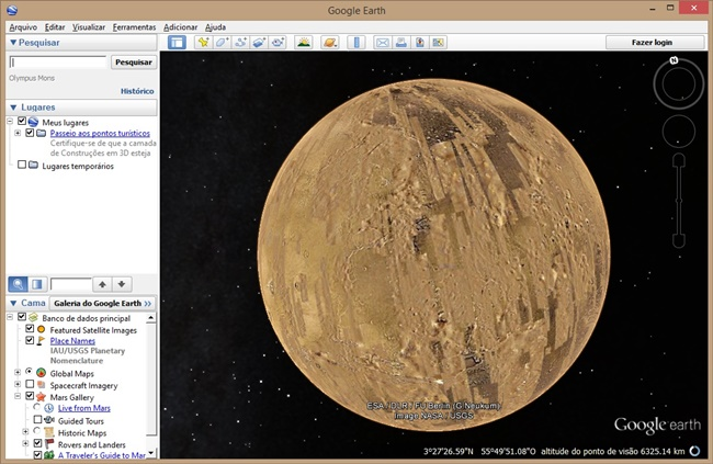 Google Earth - Imagem 6 do software