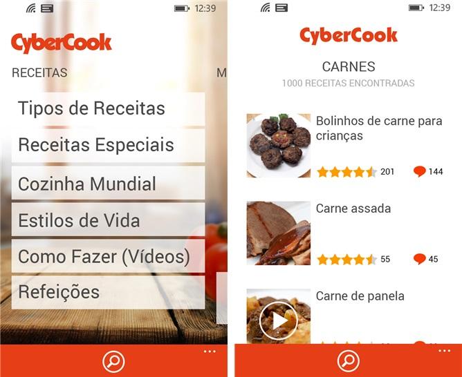 CyberCook Receitas - Imagem 1 do software