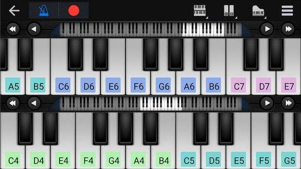 teclado musical virtual baixaki