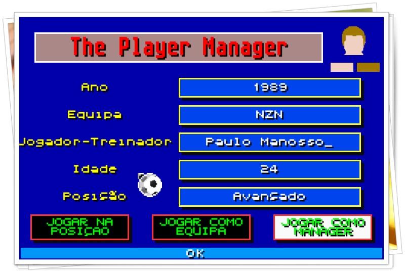 The Player Manager 2016 - Imagem 3 do software