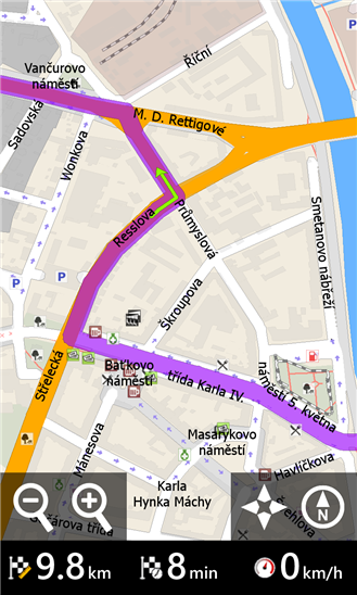 MapFactor GPS Navigation - Imagem 2 do software