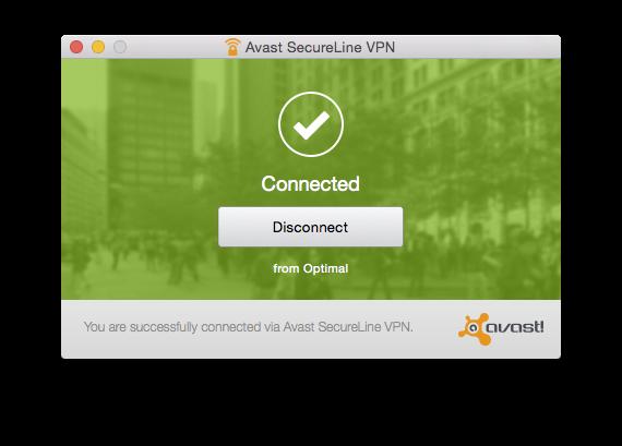 avast! SecureLine VPN - Imagem 1 do software