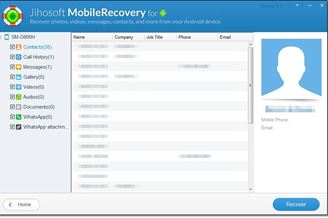PHONE RECOVERY TÉLÉCHARGER JIHOSOFT ANDROID
