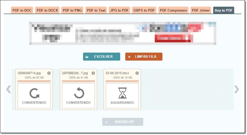 PDF to DOC - Imagem 1 do software