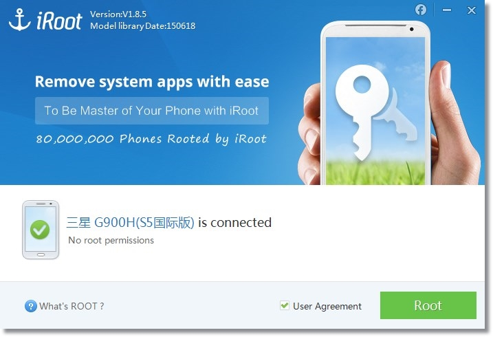 root application for android 4.4