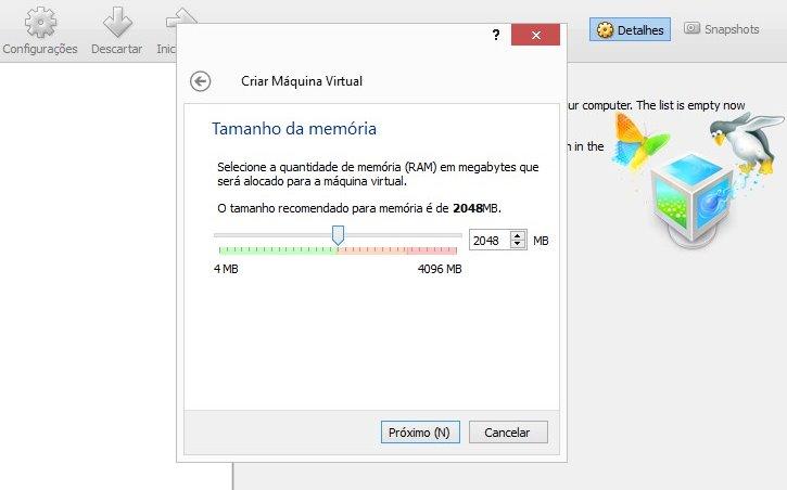 VirtualBox - Imagem 2 do software